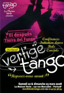 vertige tango 2008